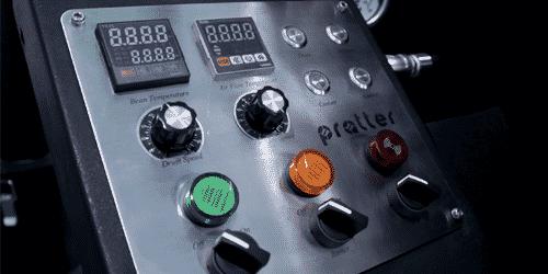 coffee roaster control panel
